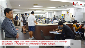 Học viện Nhật Ngữ Quốc tế Tokyo JTIS 8