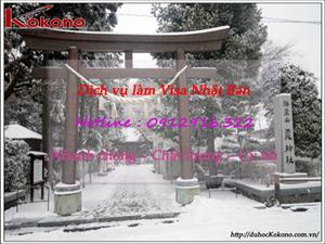Dịch vụ làm Visa Nhật Bản tại Huyện Kiến Thụy TP. Hải Phòng