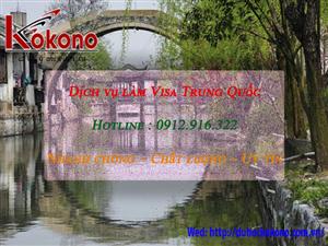 Dịch vụ làm Visa Trung Quốc tại Huyện Kiến Thụy TP. Hải Phòng