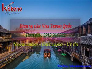 Dịch vụ làm Visa Trung Quốc tại Huyện Thủy Nguyên TP. Hải Phòng