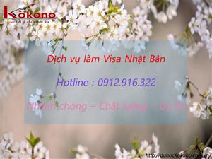 Dịch vụ làm Visa Nhật Bản tại Huyện An Dương TP. Hải Phòng