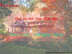 Dịch vụ làm Visa Nhật Bản tại Huyện đảo Bạch Long Vĩ TP. Hải Phòng