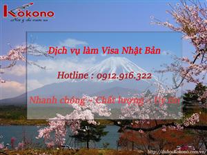 Dịch vụ làm Visa Nhật Bản tại Huyện Thủy Nguyên TP. Hải Phòng